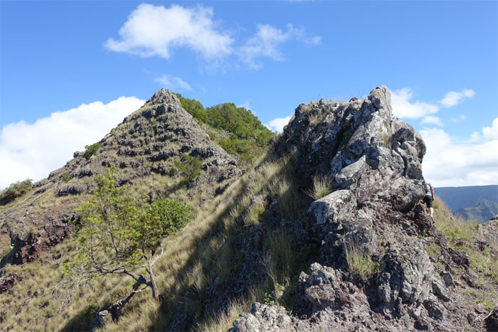 Climb or contour