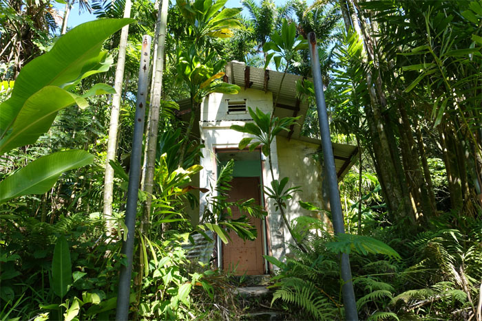 Abandoned seismograph station