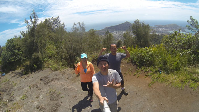 Kaluanui Ridge Summit