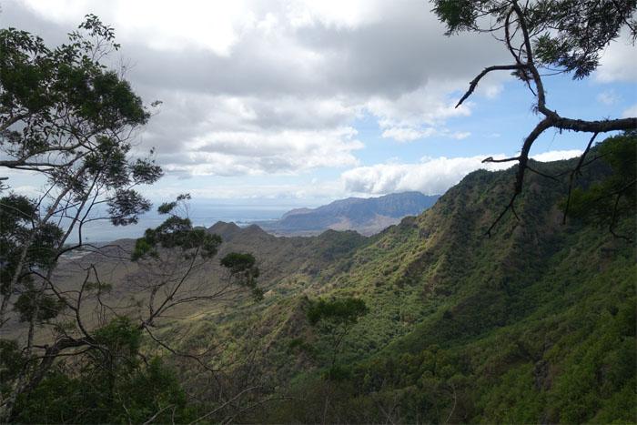 Heleakala ridge