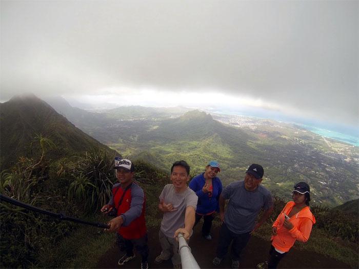 Wiliwilinui Ridge Summit
