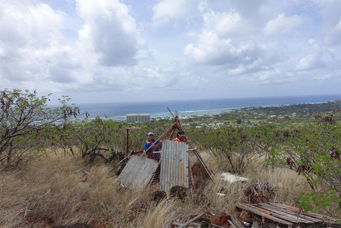 Hawaiian teepee