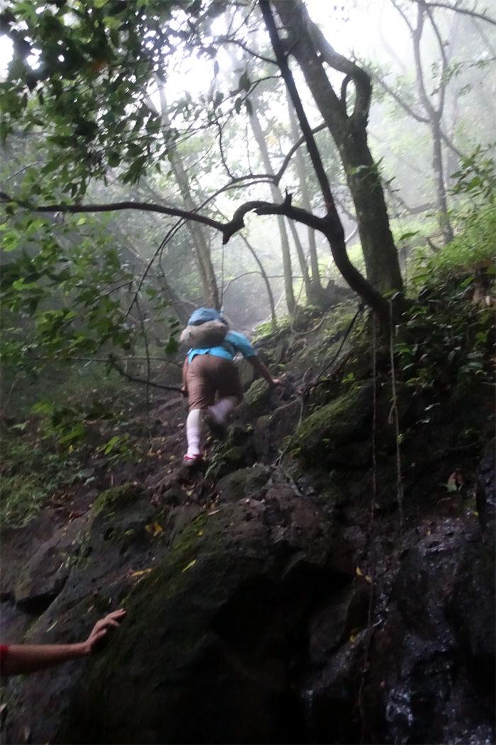 Contour climb