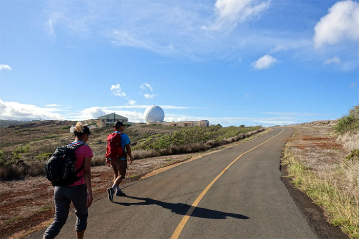 Satellite Tracking Station Road