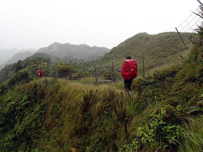 Gated hike