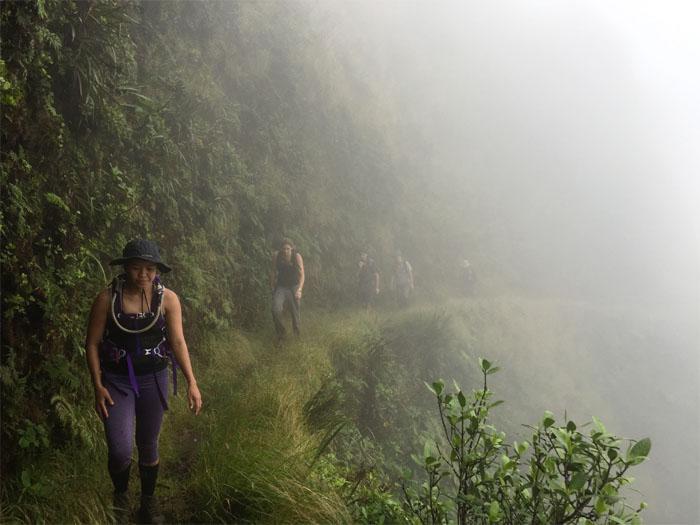 Cloudy trail