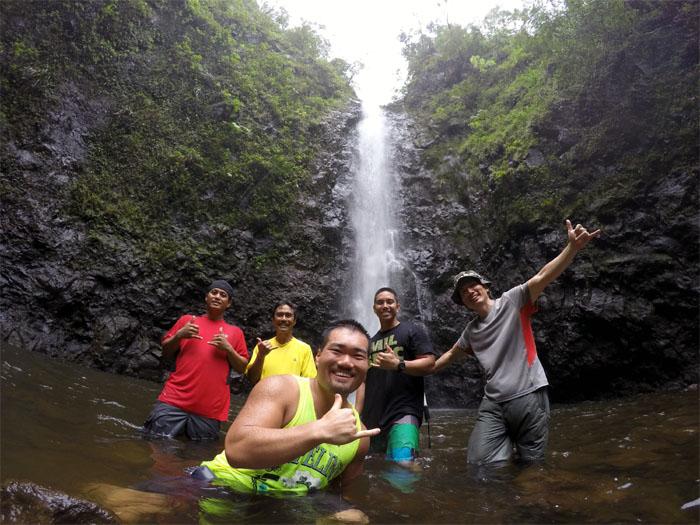 Kaipapau Gulch Falls