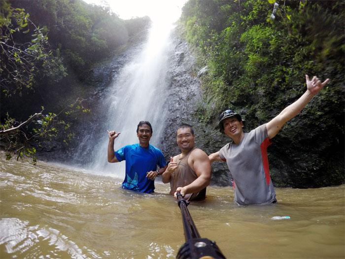 Upper Malaekahana Falls