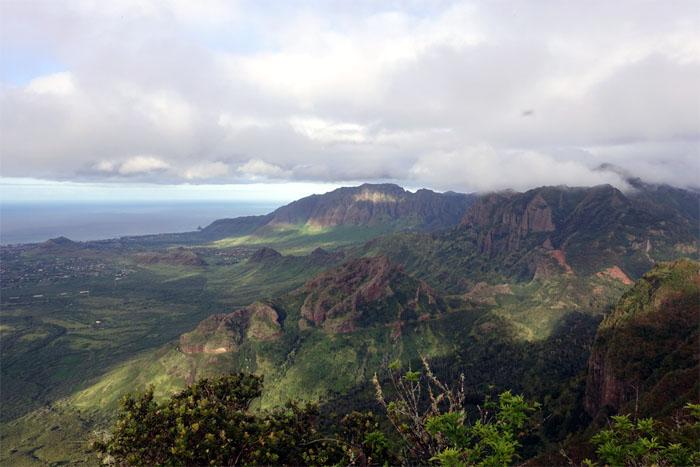 Leeward view