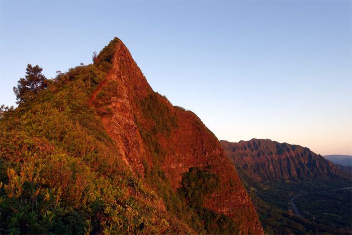 Pali pinnacle