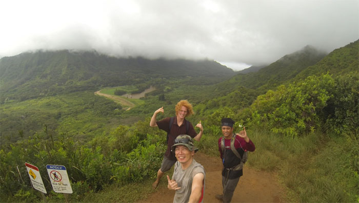 Nu'uanu Valley overlook