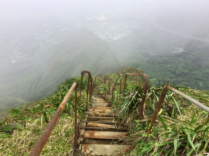 North Haiku Stairs