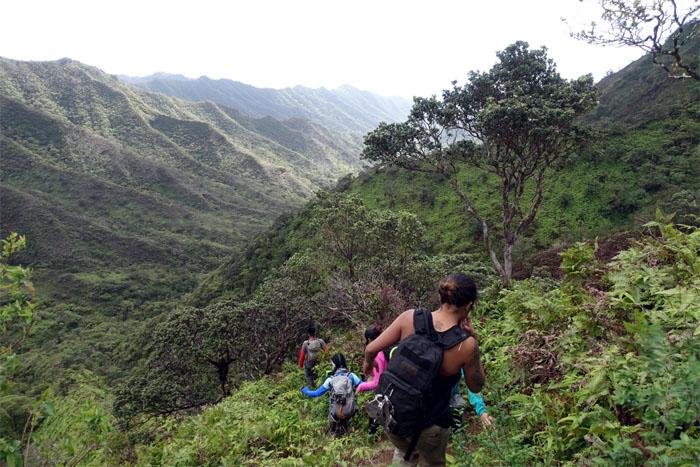 Kulana'ahane Trail