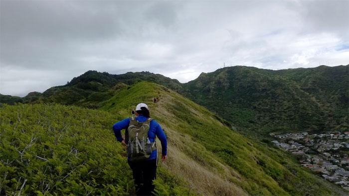 Kamiloiki Ridge