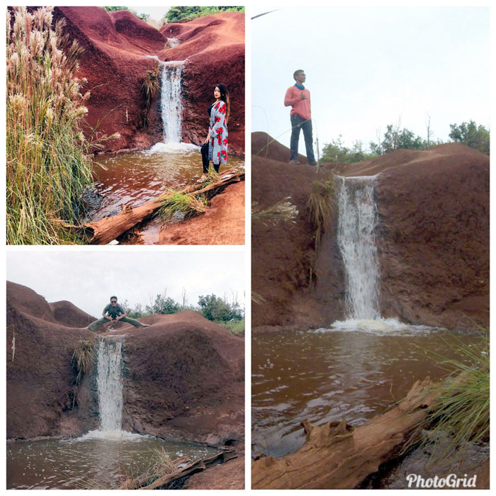 Red Dirt Waterfall
