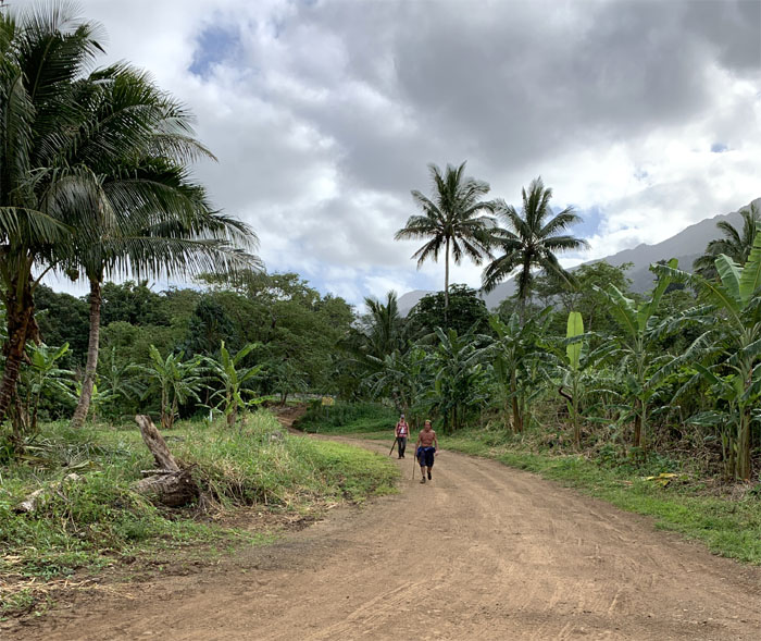 Punalu'u Valley