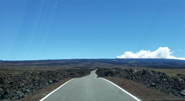 Mauna Loa Observatory Road