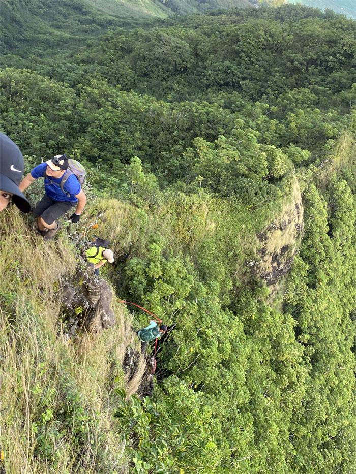 Piei Makai Ridge