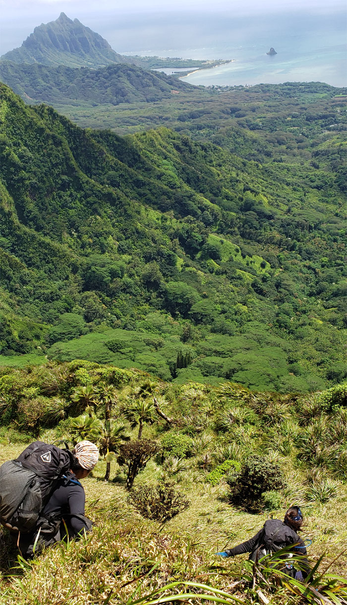 Waiawa Gap