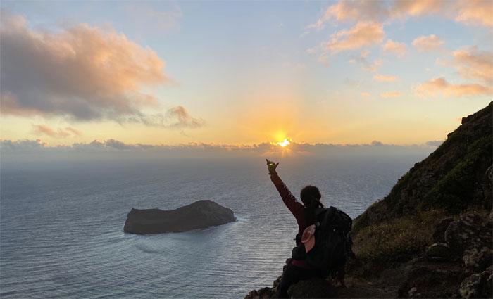 Shaka sunrise