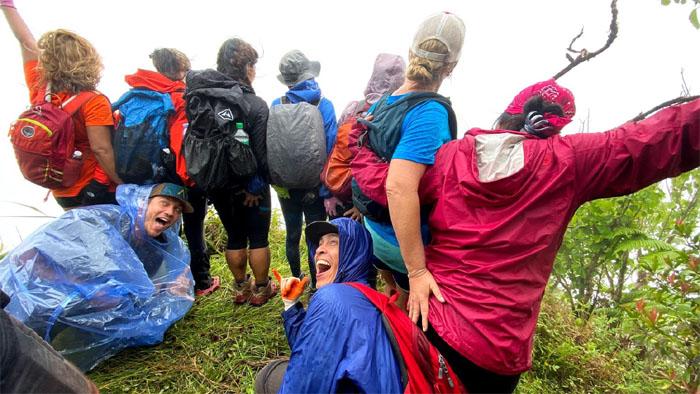 Pu'u Ohulehule Summit