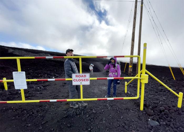 Mauna Loa Observatory Trail